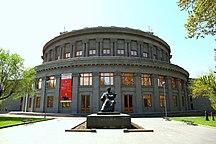 葉里溫-艺术-Aram Khchaturyan Monument in Yerevan