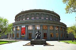 Aram Khchaturyan Monument in Yerevan