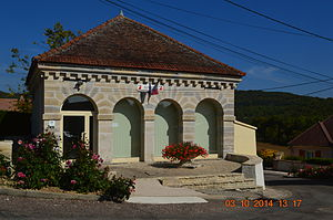 Arcey, Côte-d'Or - The Town Hall