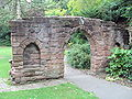 Arch from old St Michael's Church, Grosvenor Park, Chester - DSC08007.JPG