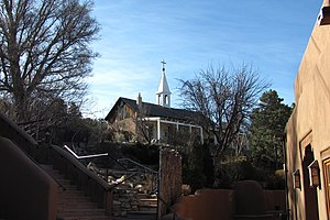National Register of Historic Places listings in Santa Fe County, New Mexico - Image: Archbishop Lamy's Chapel, Santa Fe New Mexico