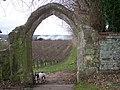 Archway on footpath - geograph.org.uk - 1065872.jpg