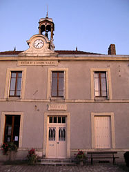 The town hall in Arcis-le-Ponsart