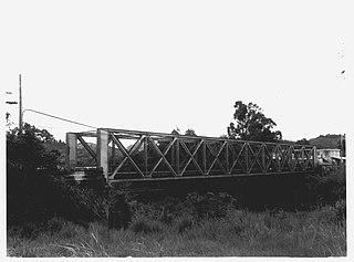 Arenas Bridge Historic bridge in Cayey and Cidra municipalities, Puerto Rico