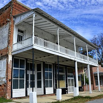 National Register of Historic Places listings in Desha County, Arkansas - Image: Arkansas City Commercial District