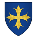 Arms of Sir Walter Paveley, KG.png