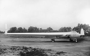 Armstrong Whitworth A.W.52 - The second jet-powered A.W.52 with Derwent engines