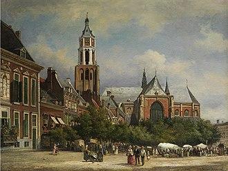 St Eusebius' Church, Arnhem - Image: Arnhem Eusebiuskerk 1884