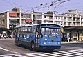 Arnhem Leyland-Verheul trolleybus 162 leaving the railway station in 1983 (cropped).jpg