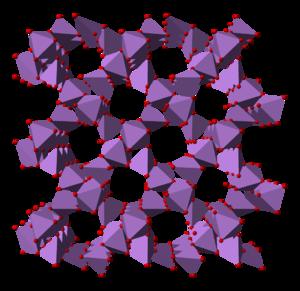 Arsenic pentoxide - Image: Arsenic pentoxide 3D polyhedra