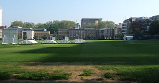 Artillery Ground park in the United Kingdom