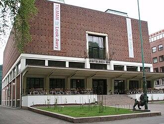 Høstutstillingen - Høstutstillingen has since 1930 been held in Kunstnernes hus (Artists' House) in Oslo.