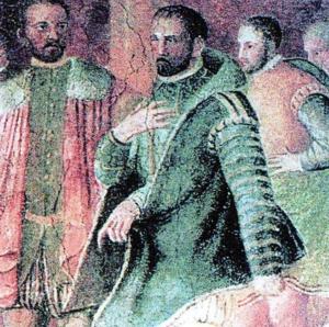 Ascanio della Corgna - Ascanio della Corgna, blind in right eye.