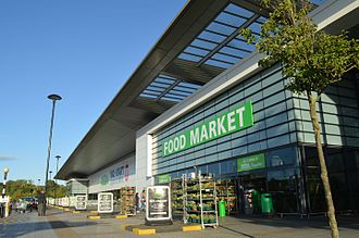 Asda - A Supercentre in Haydon, Swindon, branded Asda Walmart in 2013