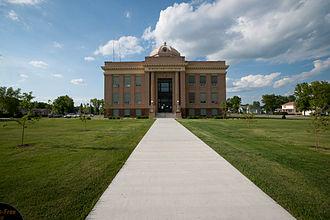 McIntosh County, North Dakota - Image: Ashley, North Dakota County Courthouse