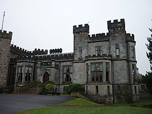 Ashton Hall - Image: Ashton Hall, north wing geograph.org.uk 1674514