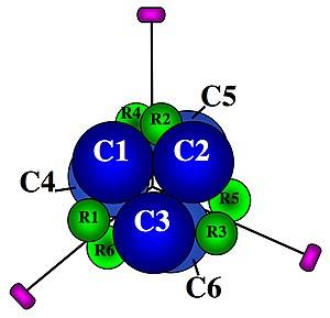 Aspartate carbamoyltransferase subunit structure