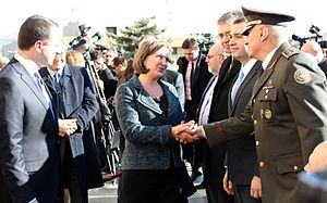 Victoria Nuland - Nuland meeting with Georgian defense ministry leadership, December 6, 2013