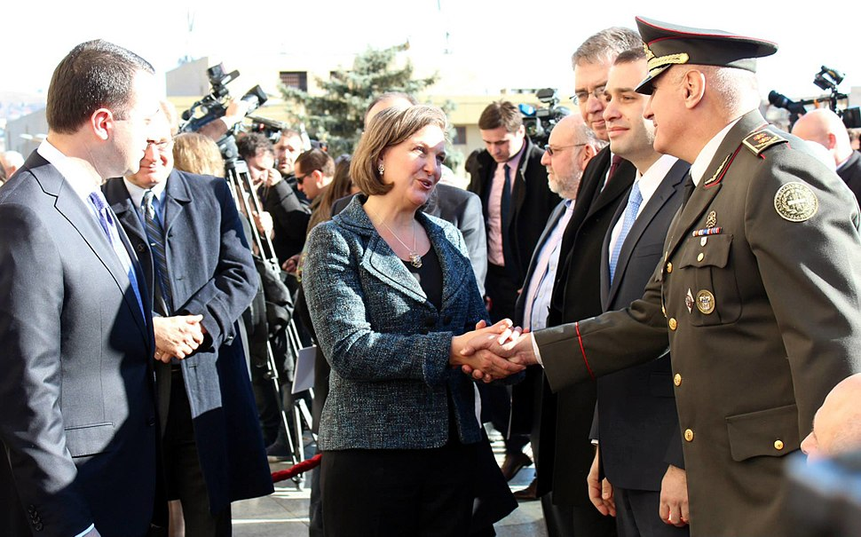 Assistant Secretary Victoria Nuland Meeting with Georgian Defense Ministry leadership 2013