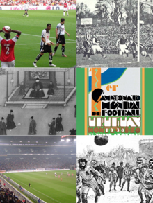 Historia del f tbol wikipedia la enciclopedia libre for Cuando es fuera de lugar futbol