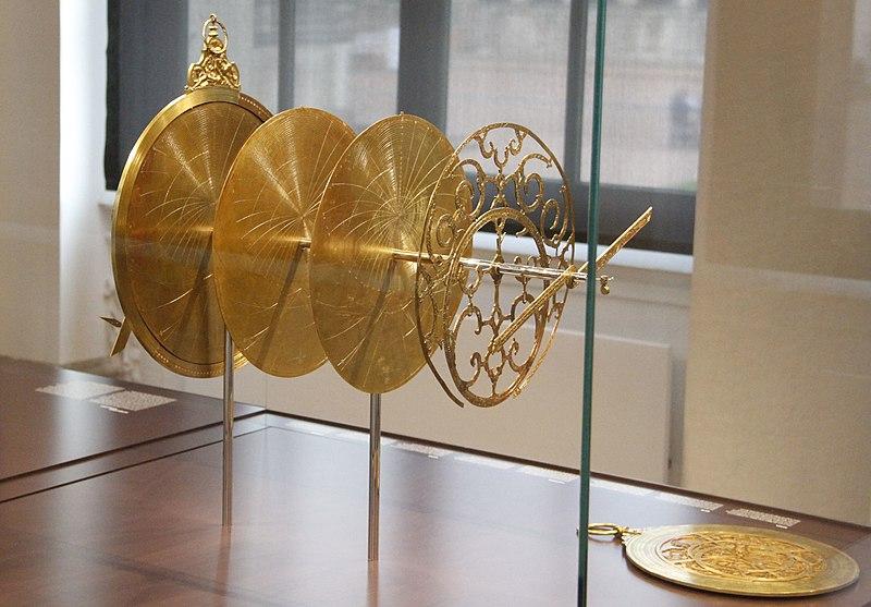 Astrolabium im Mathematisch-Physikalischen Salon (Zwinger, Dresden).jpg