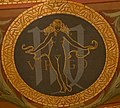 Astrological sign Virgo at the Wisconsin State Capitol.jpg