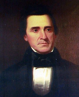 David Rice Atchison - Portrait by George Caleb Bingham