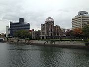 Atomic Bomb Dome in a rainy day.JPG