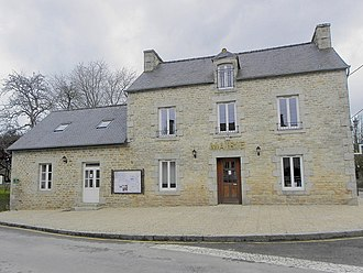 Aucaleuc - The town hall in Aucaleuc