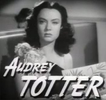 Cropped screenshot of Audrey Totter from the t...
