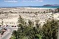Auf der Feuerleiter im Riu Oliva Hotel, Blick Richtun Lanzarote - panoramio.jpg