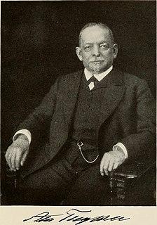 August Thyssen German industrialist