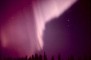 300px Aurora borealis in Alaska Earths Force Fields