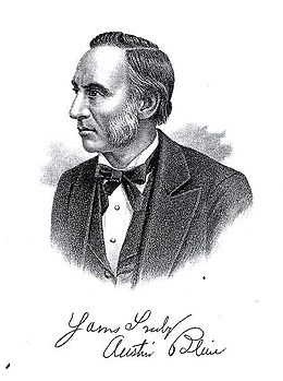 1818 : Future Governor Austin Blair Born