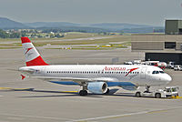 OE-LBQ - A320 - Austrian Airlines