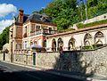 Auvers-sur-Oise (95), Chaponval, demeure 72 rue de Pontoise, cloître fin XIIIe s. des Pyrénées.jpg