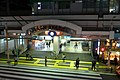 AyaseStation-NorthExit-night-2013-11-15.jpg