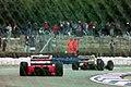 Ayrton Senna and Alessandro Zanardi 1993 Silverstone.jpg