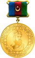 Azərbaycan Respublikasının Nizami Gəncəvi adına Qızıl medalı - avers.png