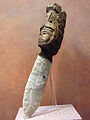 Aztec sacrificial knife with carved wooden handle (5732862709).jpg
