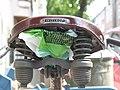 Bäckerrad von 1955, Wittkop-Sattel mit Zug-Druck-Schraubenfedern, 02. 08. 2011. - panoramio.jpg