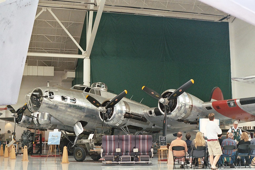 B-17G at Evergreen Museum