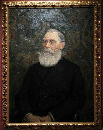 Boris Chicherin - Portrait by Leonid Pasternak