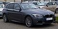 BMW 1er M-Sportpaket (F20) – Frontansicht, 30. November 2014, Düsseldorf.jpg