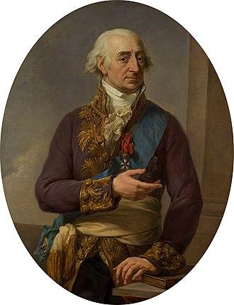 Stanisław Małachowski - Małachowski by Marcello Bacciarelli