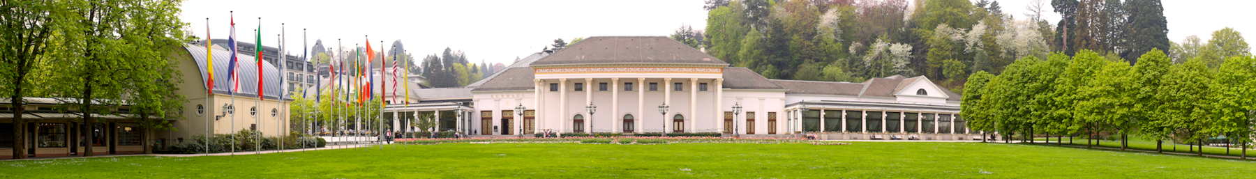 The iconic Kurhaus in the Kurpark