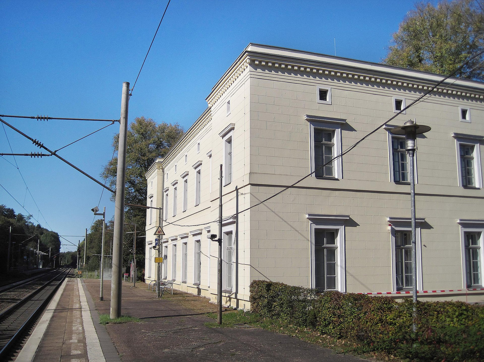 Bahnhof Friedrichsruh Wikipedia