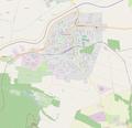 Balassagyarmat OSM map.png