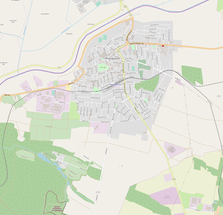 Balassagyarmat OSM map.png