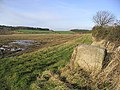 Bale at field edge - geograph.org.uk - 312386.jpg